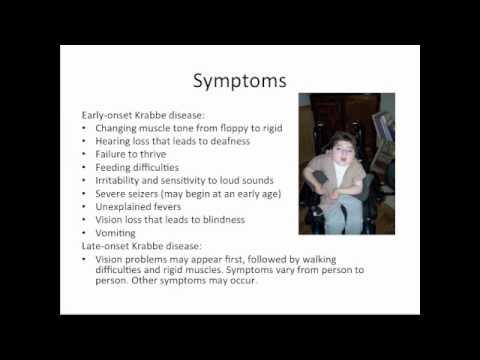 Video Krabbe's Disease 2014