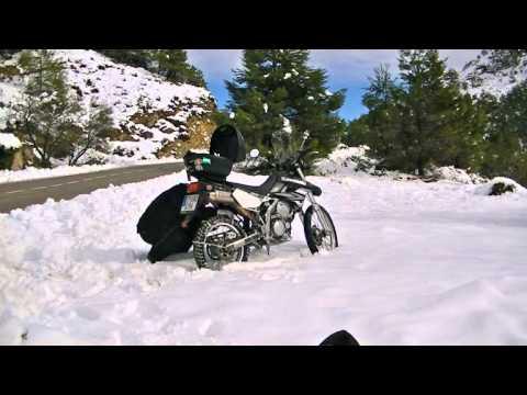 Cadenas de nieve para moto