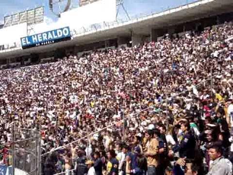 """""""La Banda de PUMAS en puebla"""" Barra: La Rebel • Club: Pumas"""