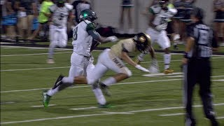 Edmond Santa Fe's Mbari Pushes his way to the End Zone
