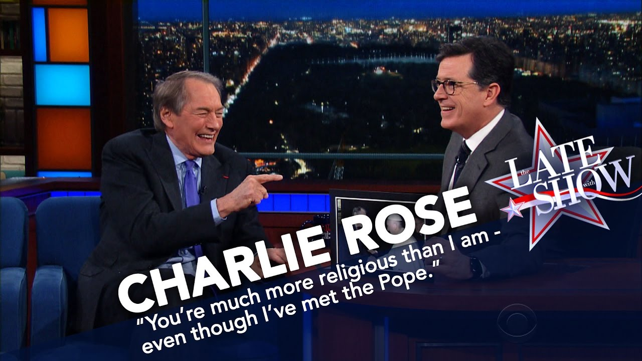 Charlie Rose Knows How To Make Stephen Colbert Jealous thumbnail