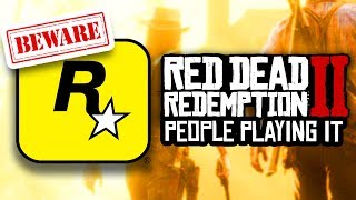 BEWARE Red Dead Redemption 2 ALREADY BEING PLAYED PS4 & XBOX ONE - LEAKS POSSIBLE