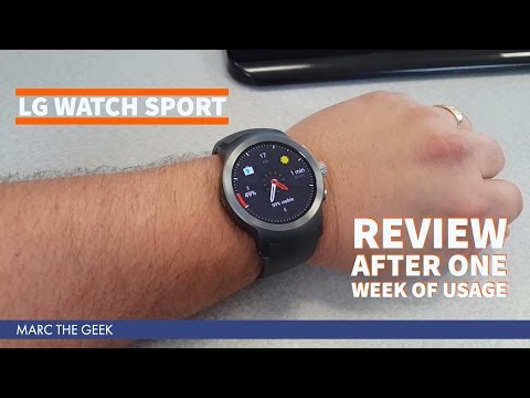 LG Watch Sport Review After One Week of Usage