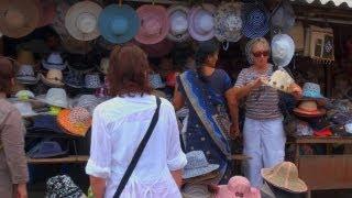Street Market in Mahabalipuram