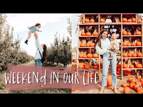 FALL WEEKEND IN OUR LIFE! | apple picking + homemade apple pie!