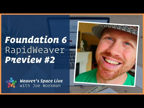Foundation 6 for RapidWeaver Preview Part 2