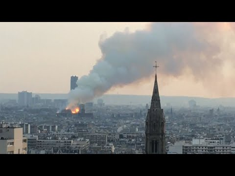 Architectural expert says the catastrophic fire that engulfed the upper reaches of Paris' soaring Notre Dame Cathedral as it was undergoing renovations, is a lost not only for the city, but for Catholics who came on pilgrimages there. (April 15)