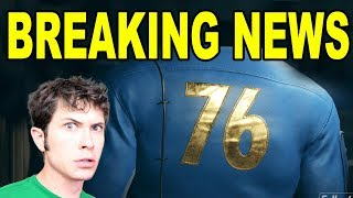 *BREAKING NEWS* FALLOUT 76 - THE NEWS