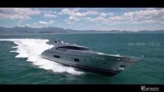 Супер Яхта AB 116 36м. скорость более 97 км.ч.!