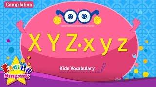 Kids từ vựng biên soạn - Words bắt đầu với X x, Y y, z Z