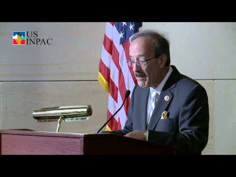 USINPAC Videos  The Road Ahead Event Congressman Eliot Engel