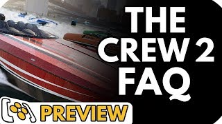 The Crew 2 Preview Q&A | Does it Have Cars?