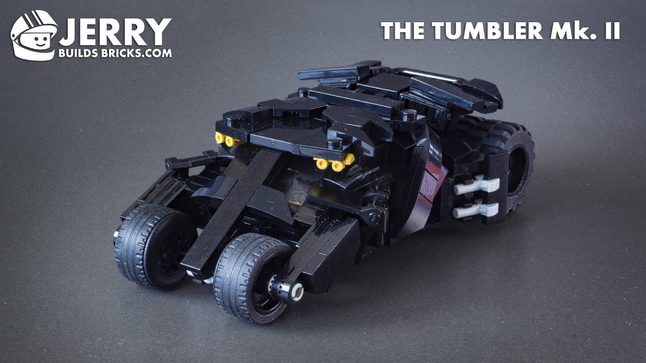 LEGO The Tumbler Mk. II instructions (MOC #118)