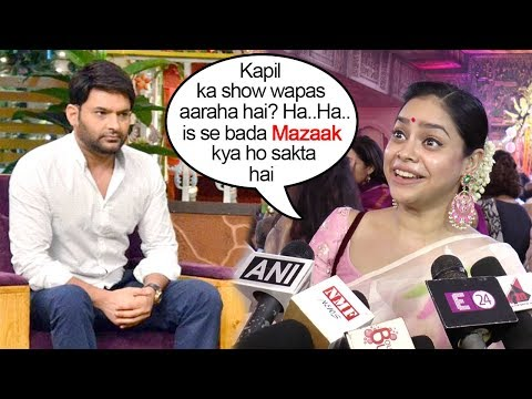 Shumona Chakrovarti Makes FUN Of Kapil Sharma's COME BACK News