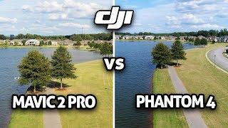 "1"" Camera Shootout! DJI Mavic 2 Pro vs Phantom 4 (4K)"