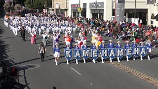Kamehameha HS Warrior Marching Band - 2020 Pasadena Rose Parade
