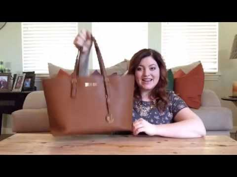 Michael Kors Jetset Travel Tote Review/Dupe for LV Neverfull!