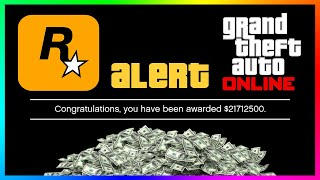 How To Get FREE Money In GTA 5 Online Just By Doing This ONE Simple Thing...(Bonus Cash 2021)