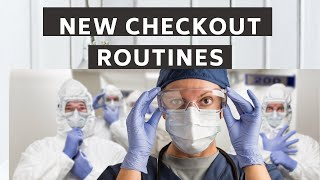 New Patient Checkout Process with PPE