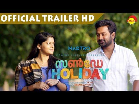 Sunday Holiday Official Trailer HD | Asif Ali | Aparna Balamurali