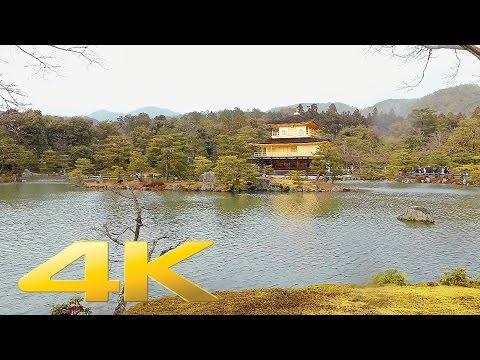 Kinkaku-ji Temple Golden Pavilion, Kyoto - Long Take【京都・金閣寺】 4K