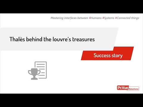 PcVue Solutions and Thales behind the Louvre's new Treasure