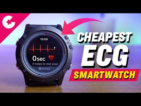 Cheapest Smartwatch With ECG - Zeblaze Vibe 3 ECG Review!!