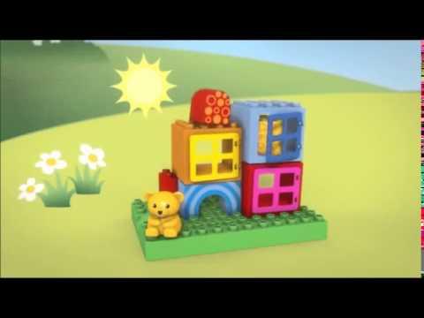 Vidéo LEGO Duplo 10553 : Cubes de construction pour tout-petits