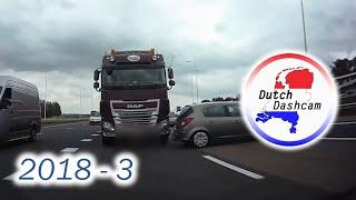 Dashcam Compilatie Nederland 2018 #10