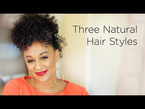 Tia Mowry's 3 Modern Ways to Wear an Afro | Quick Fix
