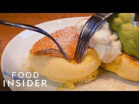 How Japan's Famous Fluffy Pancakes are Made in New York