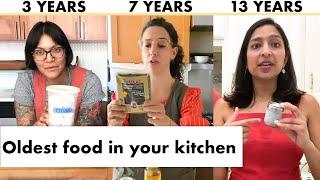 Pro Chefs Show Us the Oldest Food in Their Kitchens | Test Kitchen Talks @ Home | Bon Appétit