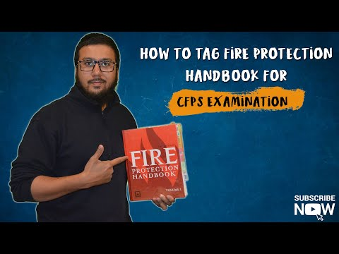How to Tag Fire Protection Handbook 20th Edition for CFPS ...