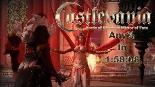 Castlevania Lords of Shadow Mirror of Fate HD SPEEDRUN any% in 1:58:08