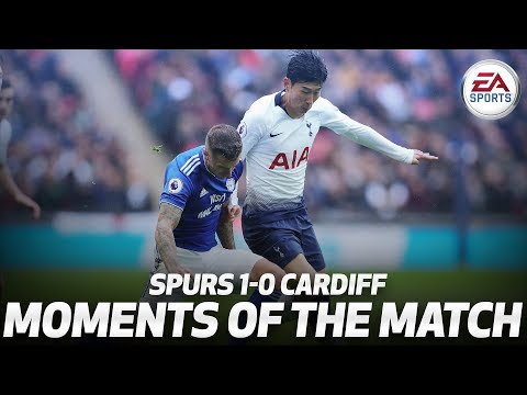 HEUNG-MIN SON'S TOUCHLINE TRICKERY | SPURS 1-0 CARDIFF | MOMENTS OF THE MATCH