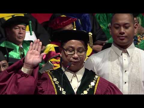 Investiture of Atty. Danilo L. Concepción as 21st president of the University of the Philippines