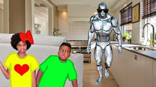 GAME MASTER Turned Our Robot Into A Spy! - Shiloh and Shasha - Onyx Kids