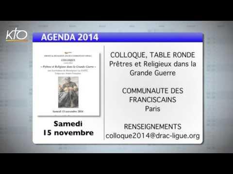 Agenda du 3 novembre 2014