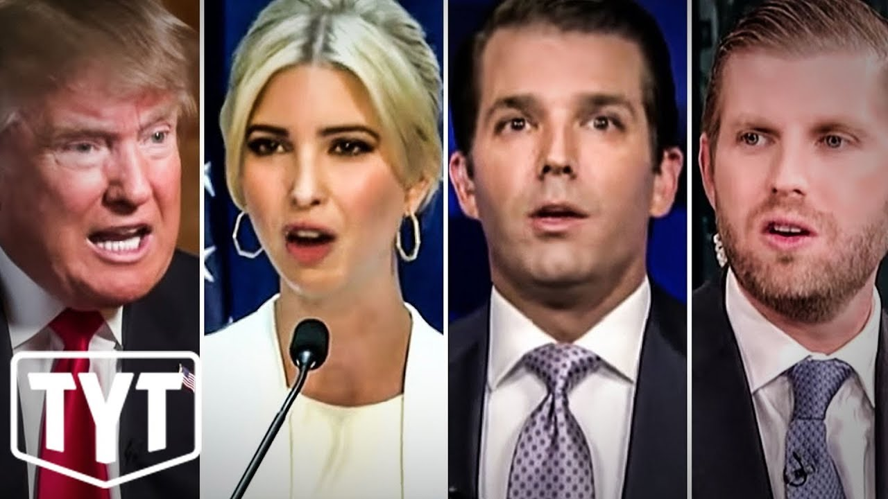 Trump And His Kids Can't Escape Lawsuit For Running Pyramid Scheme thumbnail