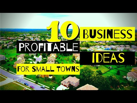 , title : '10 Profitable Business Ideas For Small Towns