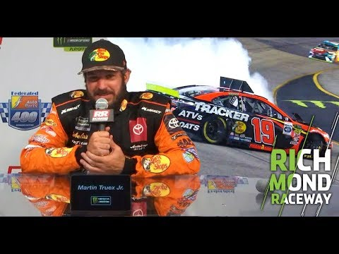 Truex on Stenhouse contact: 'First thing was what the hell?': Richmond Raceway