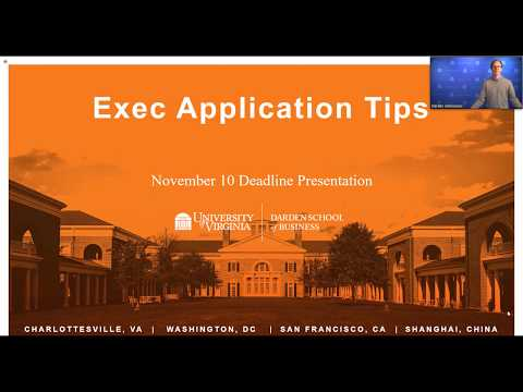 Exec Application Tips - November 2018