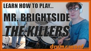 ★ Mr. Brightside (The Killers) ★ Drum Lesson PREVIEW | How To Play Song (Ronnie Vannucci)