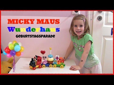 Micky & Minnie Maus Geburtstagsparade ♥ Wunderhaus Eisenbahn   Lego Duplo