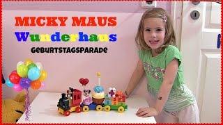 Micky & Minnie Maus Geburtstagsparade ♥ Wunderhaus Eisenbahn | Lego Duplo