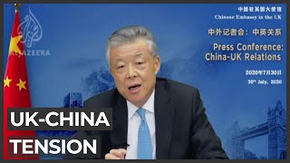 China-UK Relations Suffer Over Hong Kong And Huawei