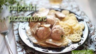 Pulpeciki w sosie pieczarkowym - Kotlet.TV