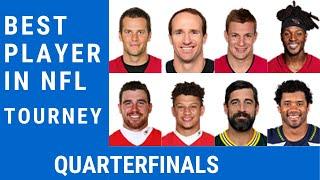 Best NFL Player Tourney Quarterfinals: Vote for Your NFL MVP