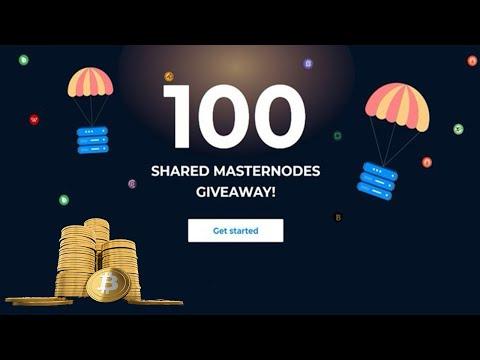 Ganhe até U$250 Dolares em Bitcoin + 100 Masternodes no Evento de Giveaway da MyCointainer 🚀 !