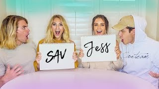 I can't believe Savannah did this... (MARRIED VS. MARRIED w/ JESS & GABE)